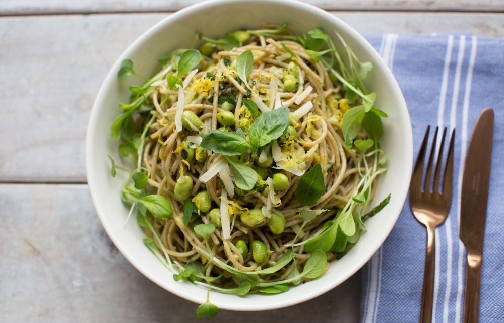 Pesto Pasta Relay Foods