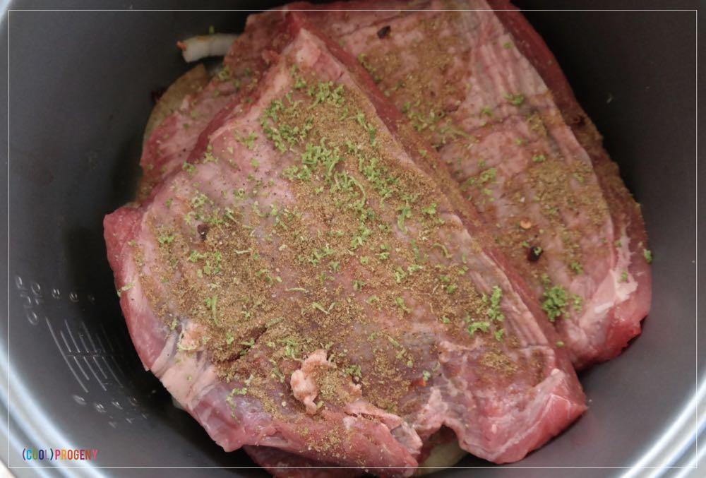 slow cooker steak fajitas - (cool) progeny