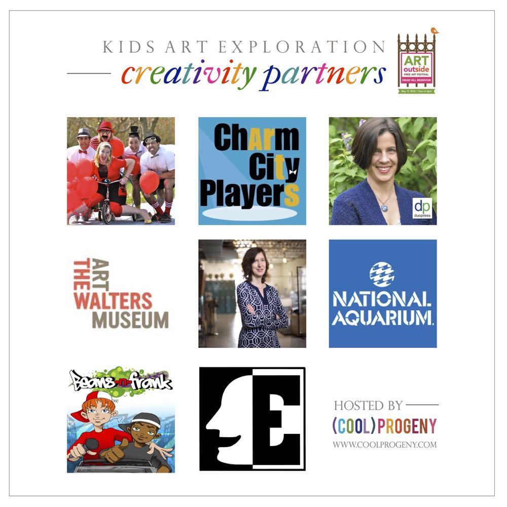 Kids Art Exploration Area Partners - (cool) progeny