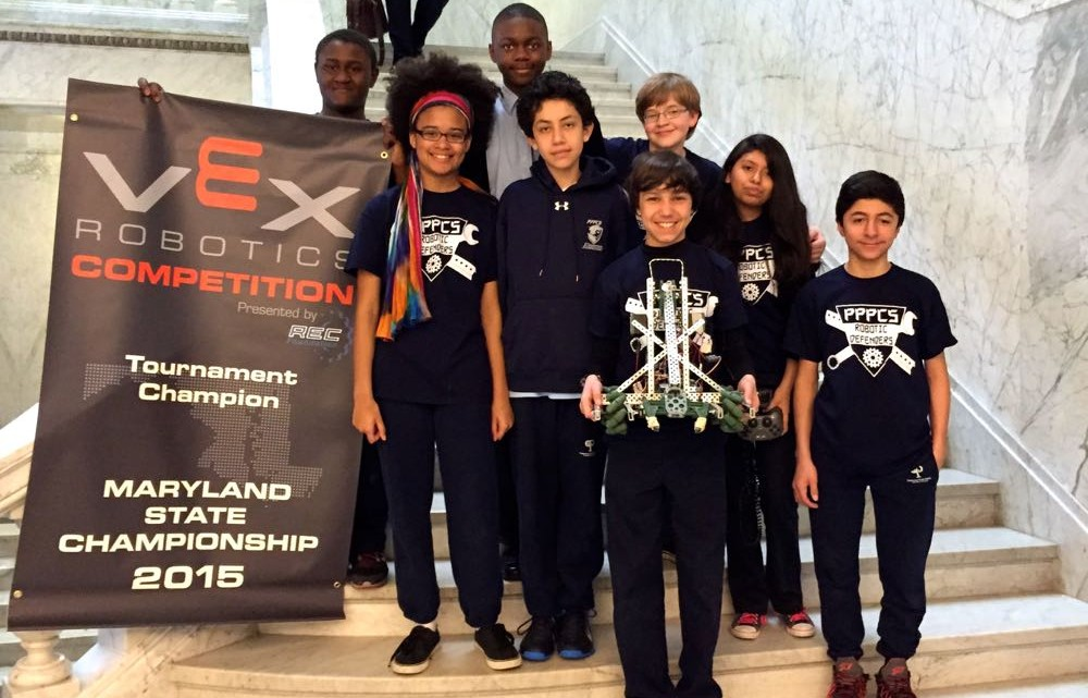 Patterson Park Charter School Students rock VEX Robotics Competition - (cool) progeny