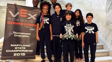 Patterson Park Charter School Students rock VEX Robotics Competition - (cool) progeny