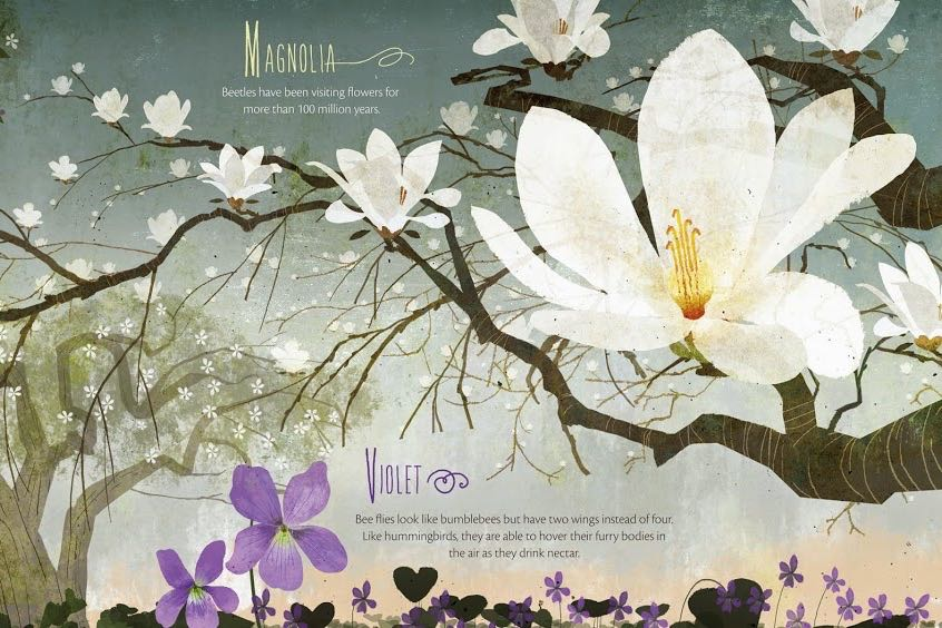 What's Blooming? Books about Spring for Kids - (cool) progeny #coolreads