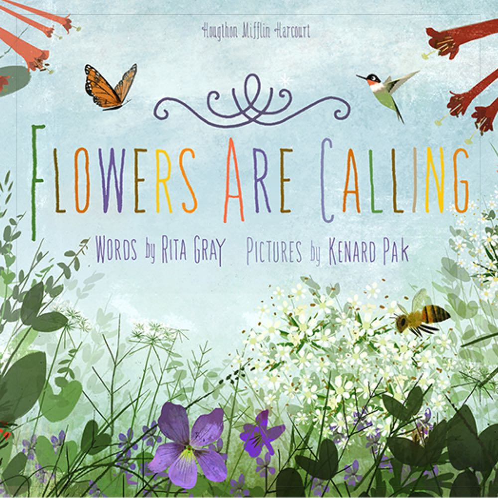 What's Blooming? Books about Spring for Kids: Flowers are Calling - (cool) progeny #coolreads
