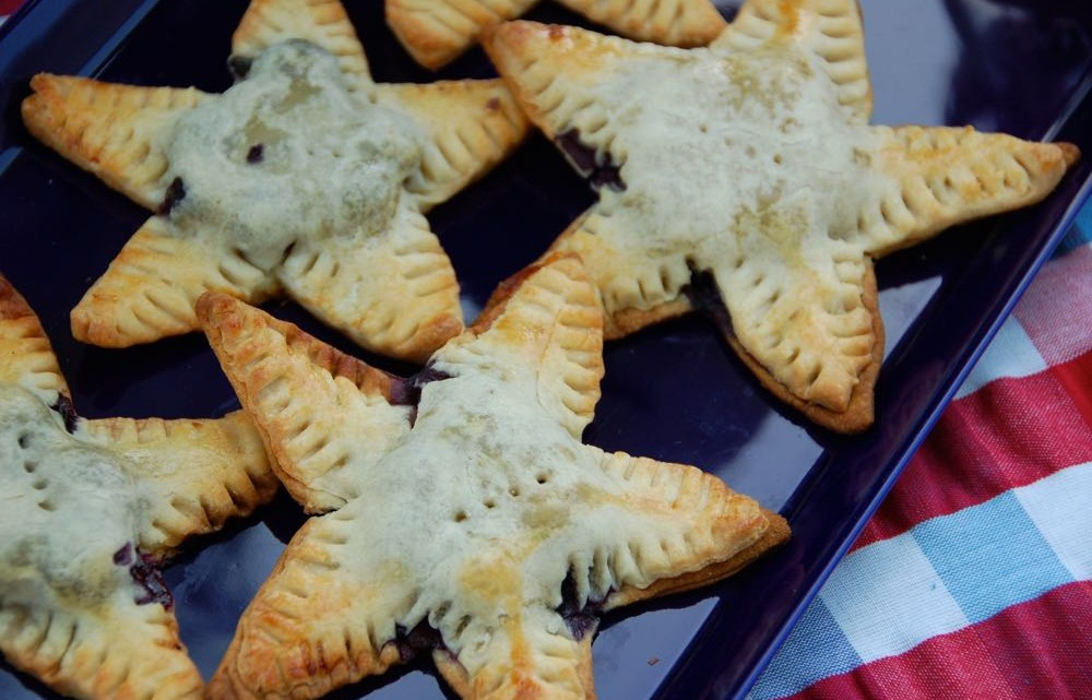 Blueberry Lemon Pie Stars - (cool) progeny