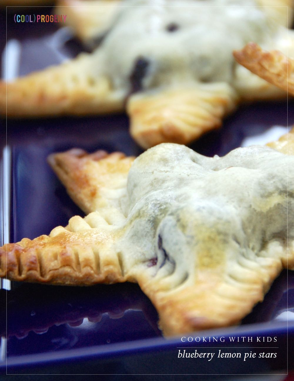 Blueberry Lemon Pie Stars - (cool) progeny