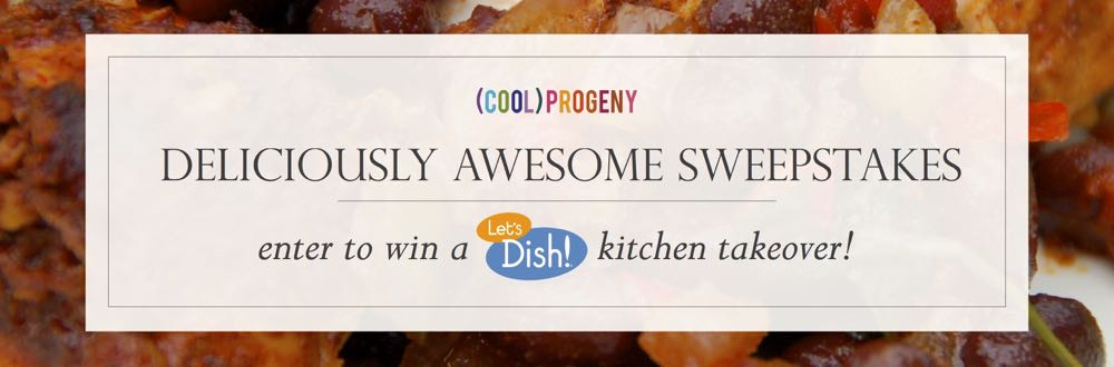 enter to win a kitchen takeover with (cool) progeny and let's dish! #coolprogeny
