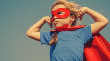 Super Hero Kids Area at FIT+