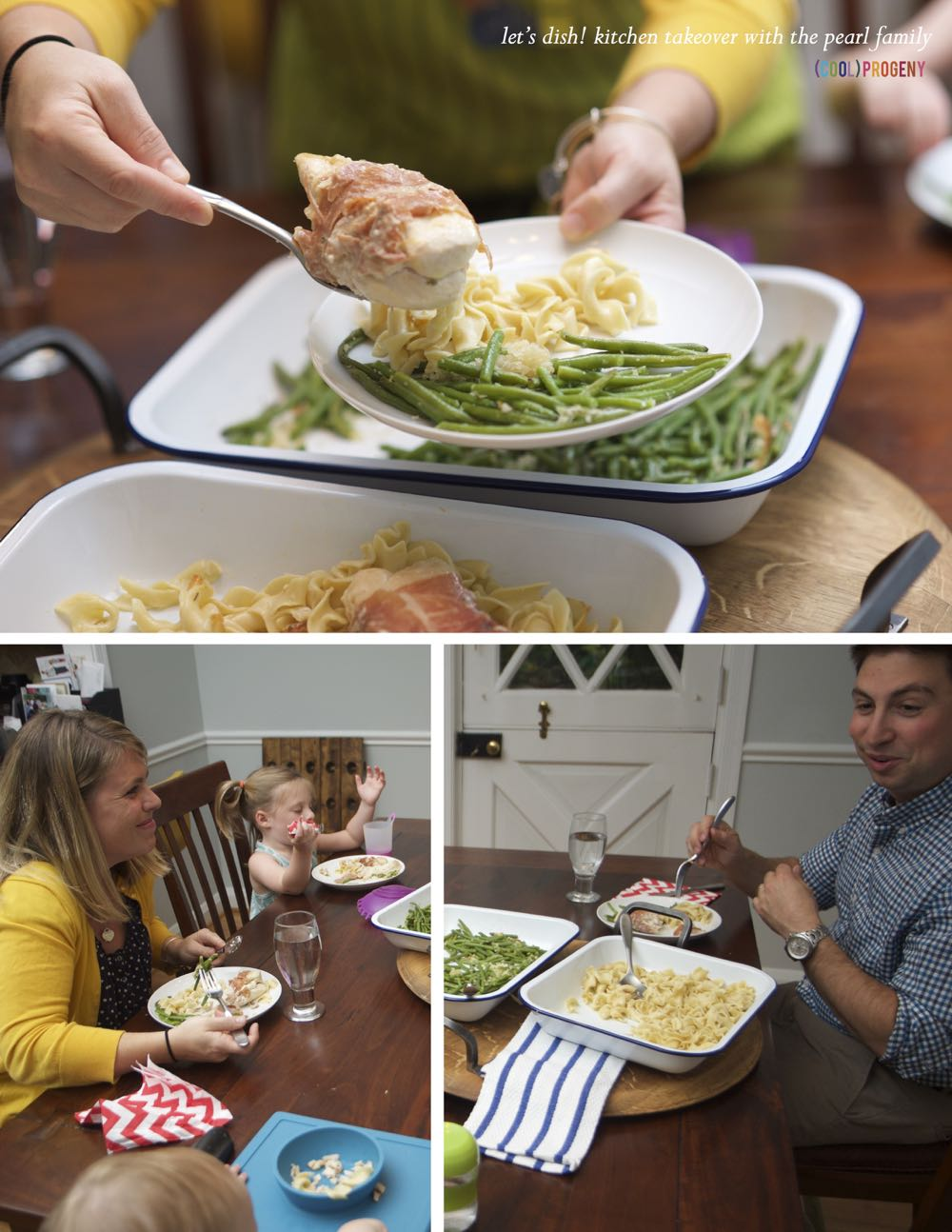 Let's Dish! Kitchen Takeover with the Pearl Family - (cool) progeny