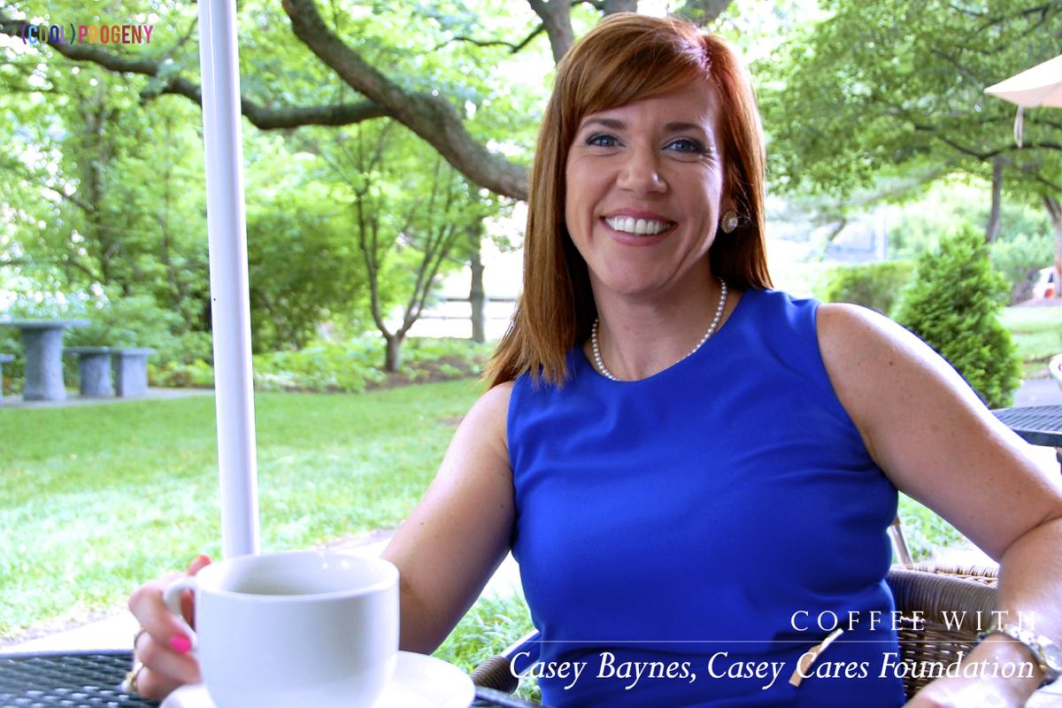 coffee with casey baynes, casey cares foundation - (cool) progeny #coffeewith