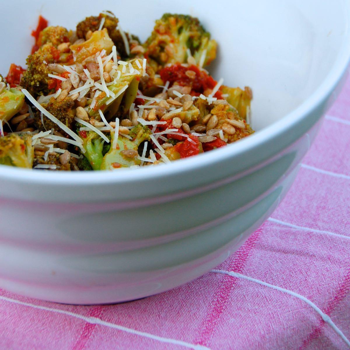potluck fav: let's dish italian broccoli salad