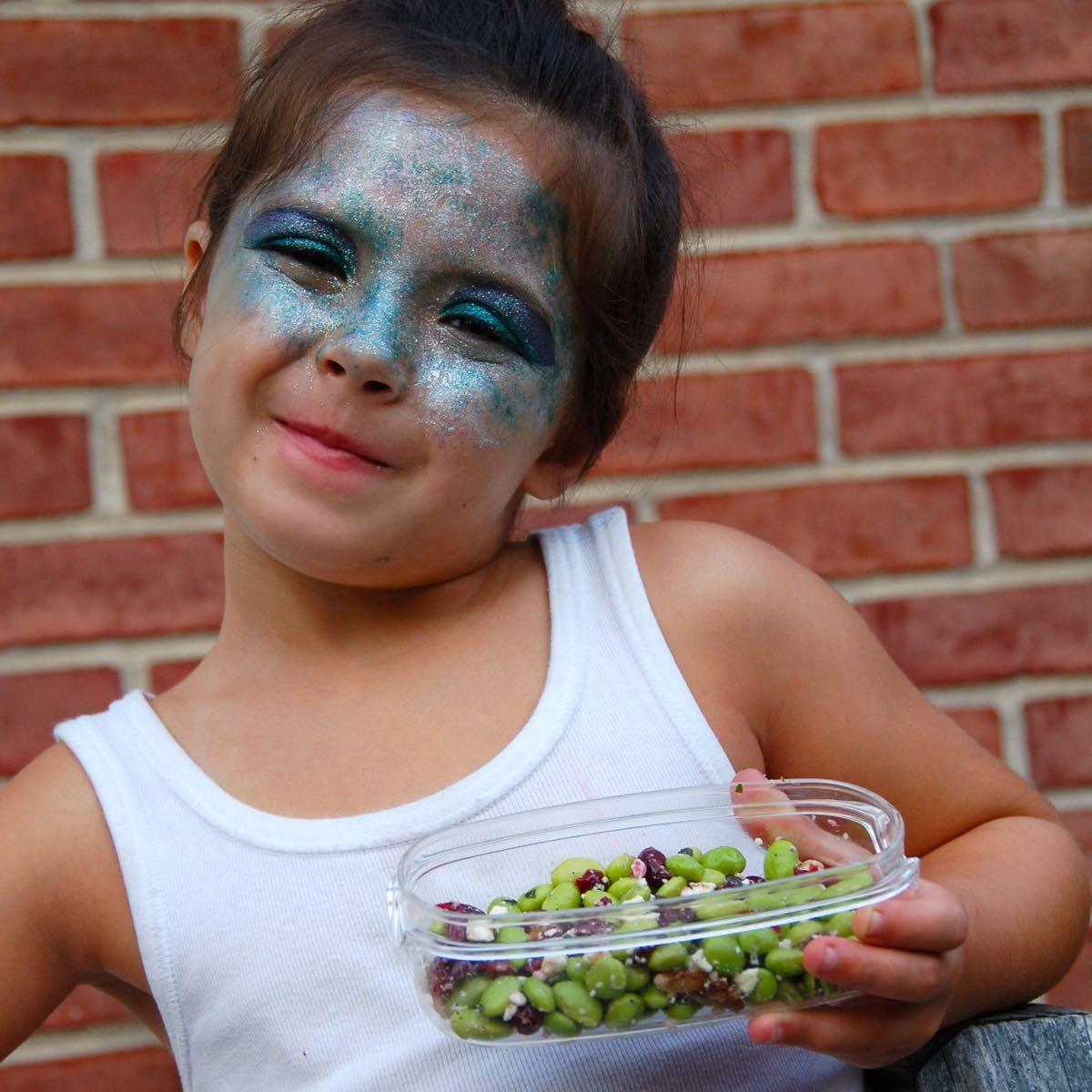 Post-Play Snack: Let's Dish Cranberry Walnut Edamame Salad