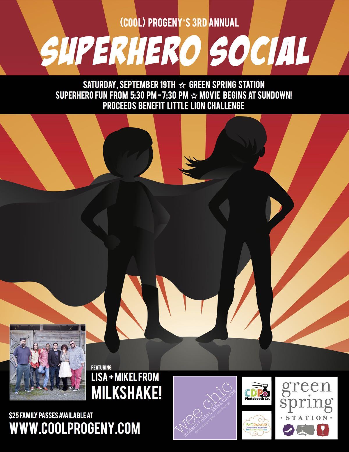 (cool) progeny superhero social