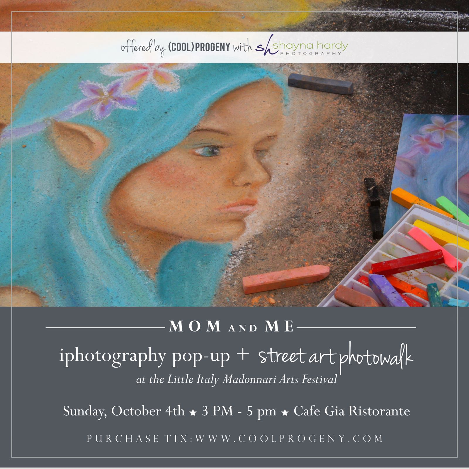 Mom and Me: iPhotography Class and Photowalk - (cool) progeny