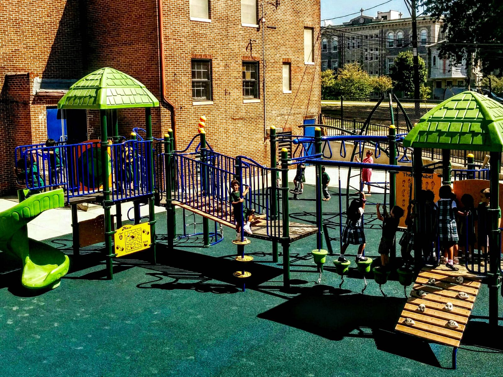 Archbishop Borders New Playground - (cool) progeny