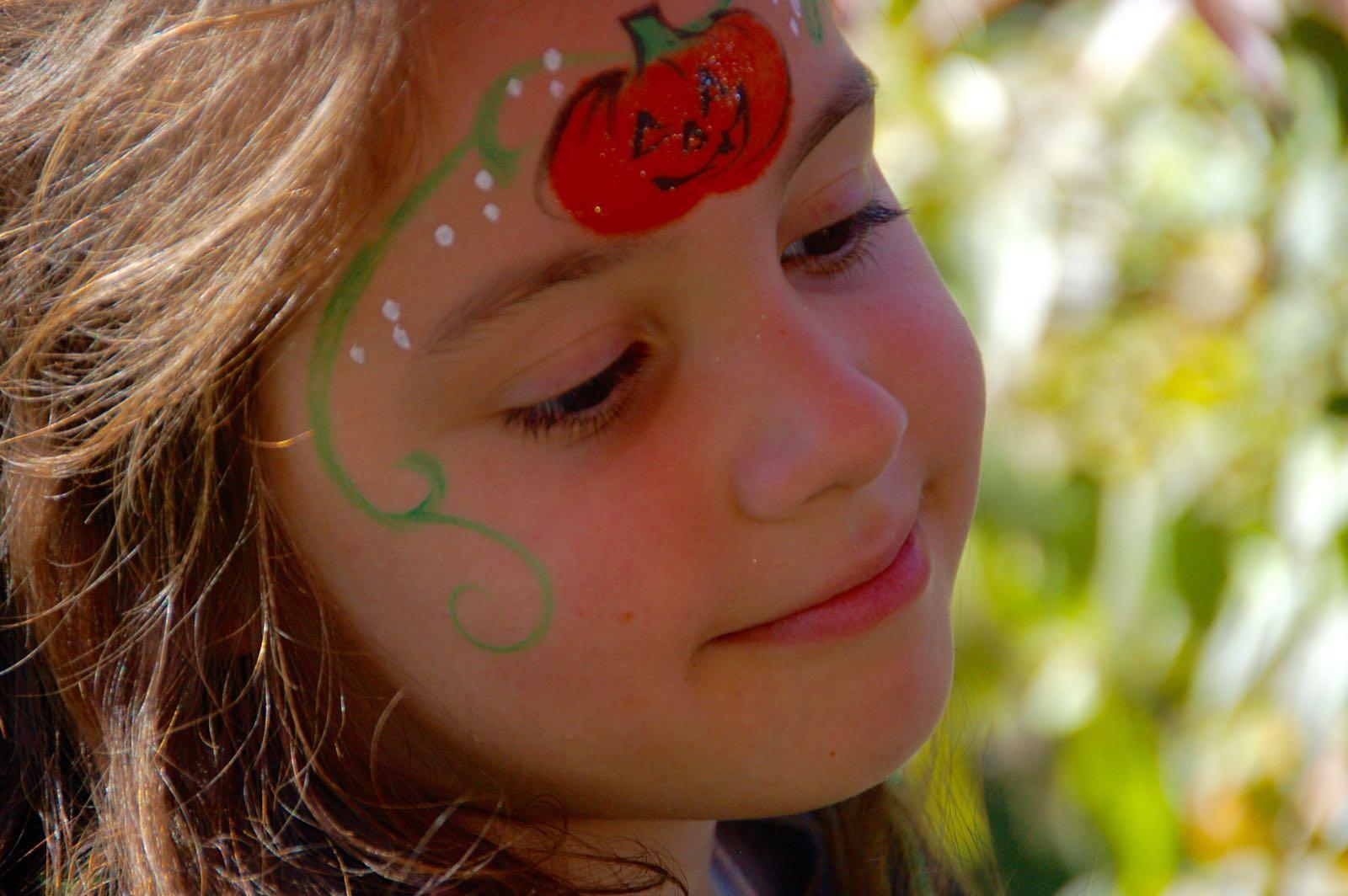 pumpkin-princess-halloween-facepaint - 5