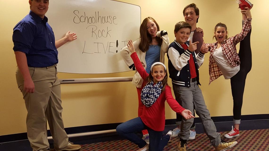 School House Rocks Live! Jr. at Pumpkin Theatre - (cool) progeny