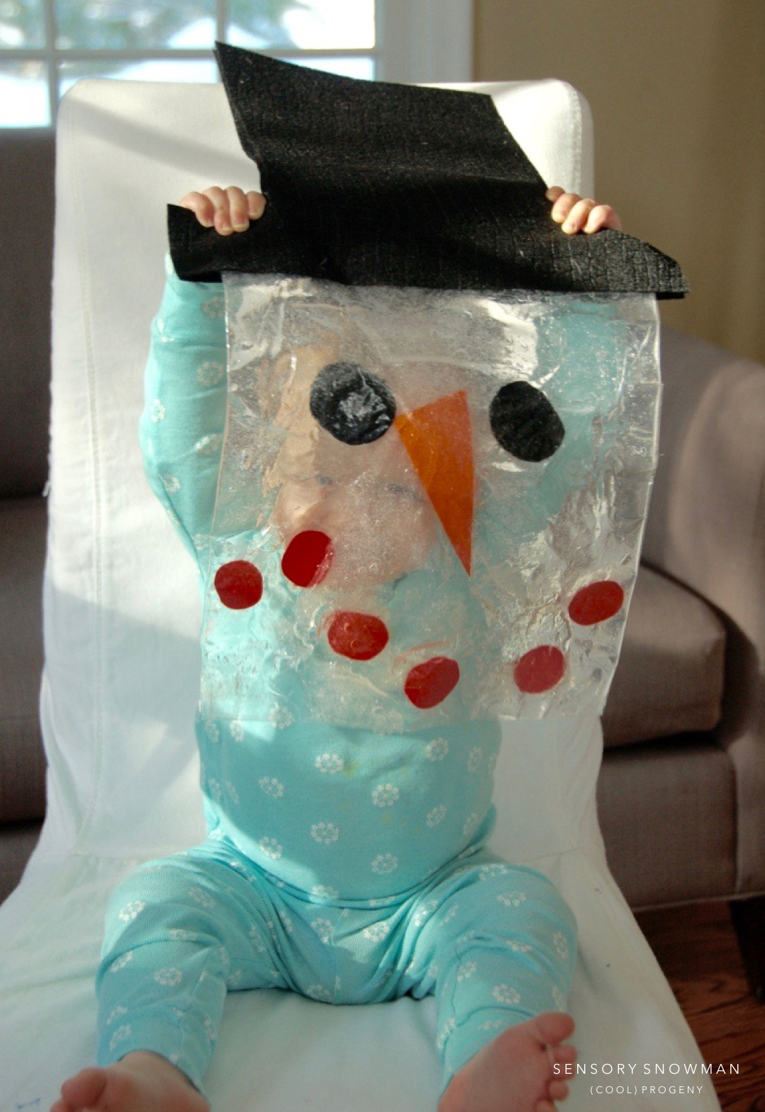 (cool) kid activity: sensory snowman in a bag - (cool) progeny