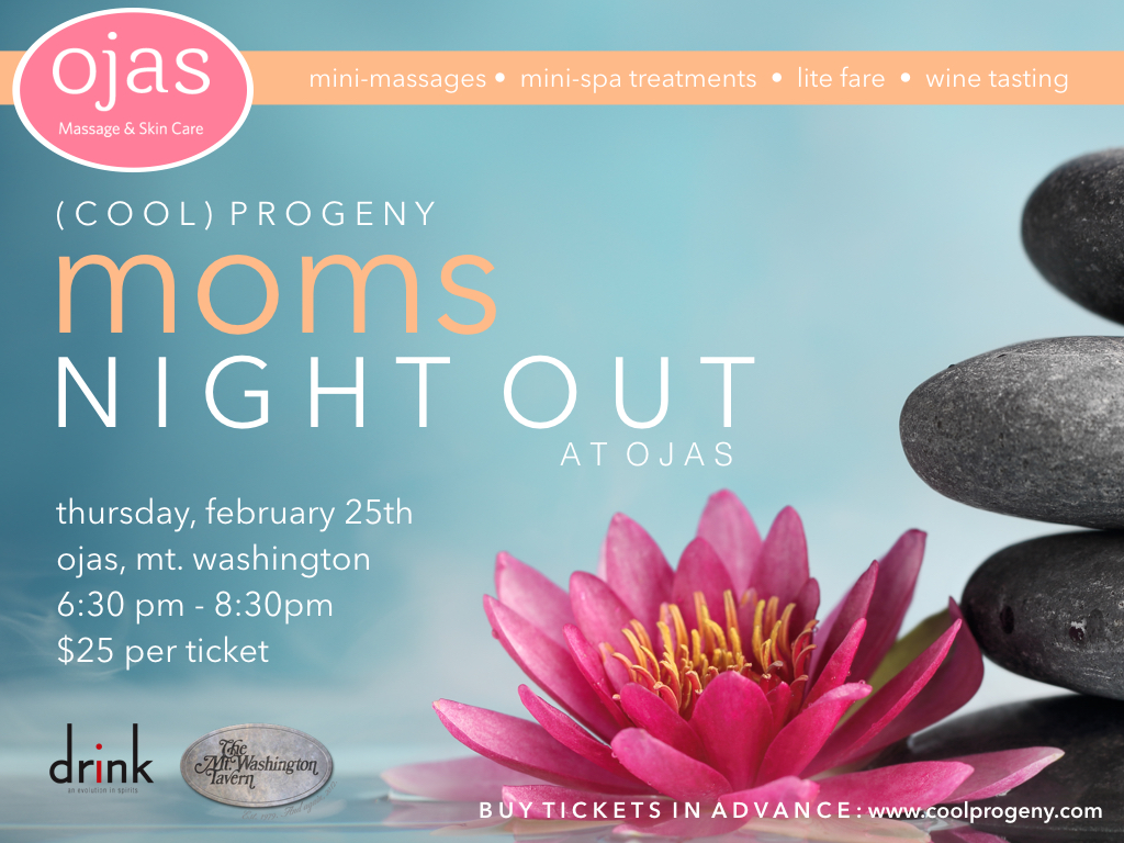 (cool) progeny moms night out at ojas! - (cool) progeny