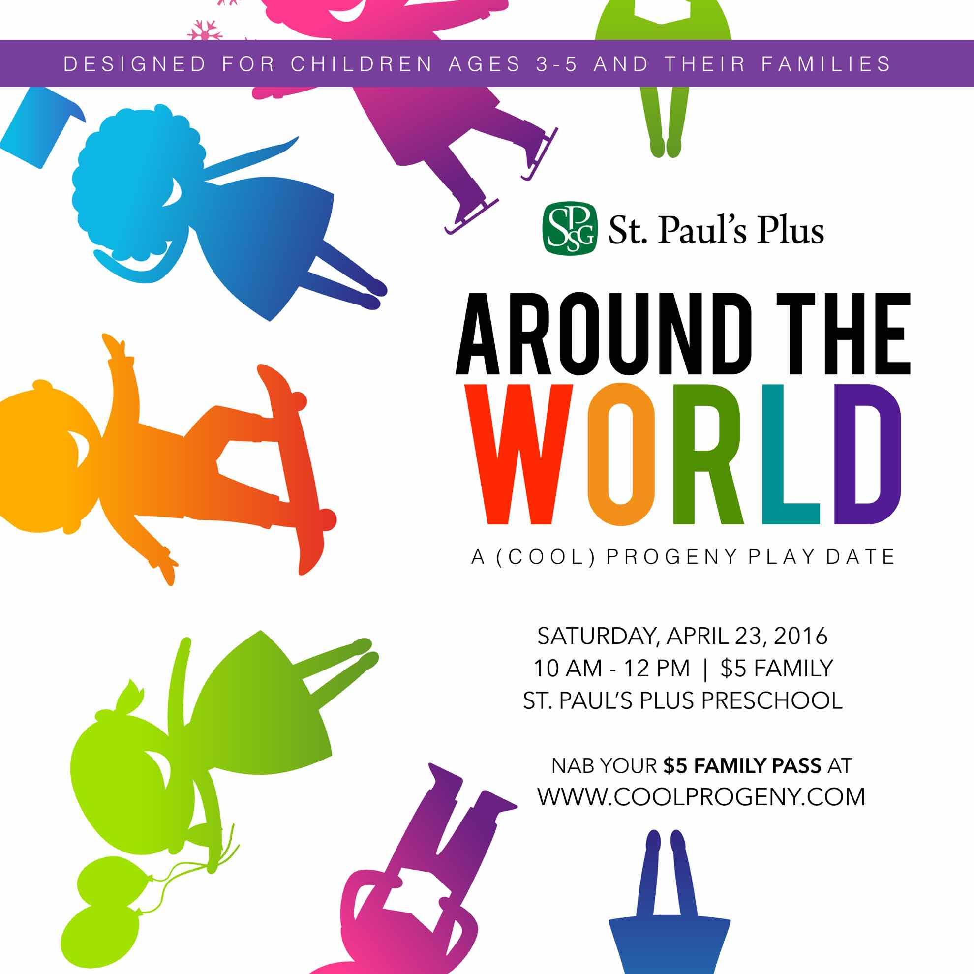 around the world play date - (cool) progeny