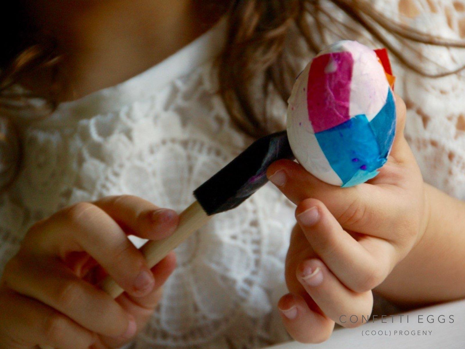 diy confetti easter eggs - (cool) progeny