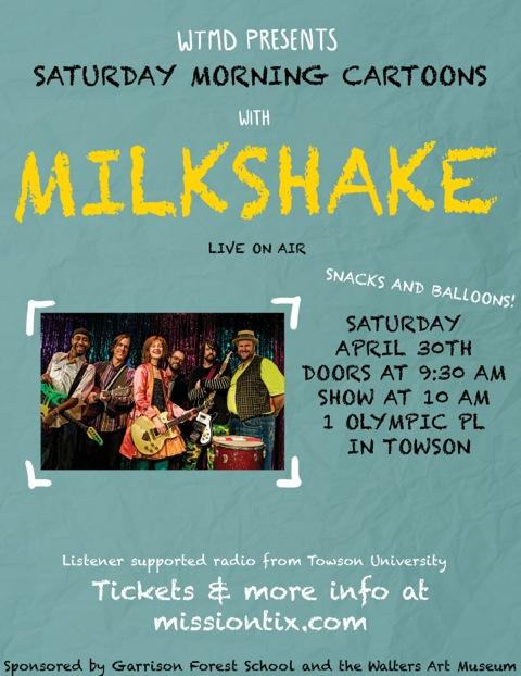 Milkshake LIVE at WTMD