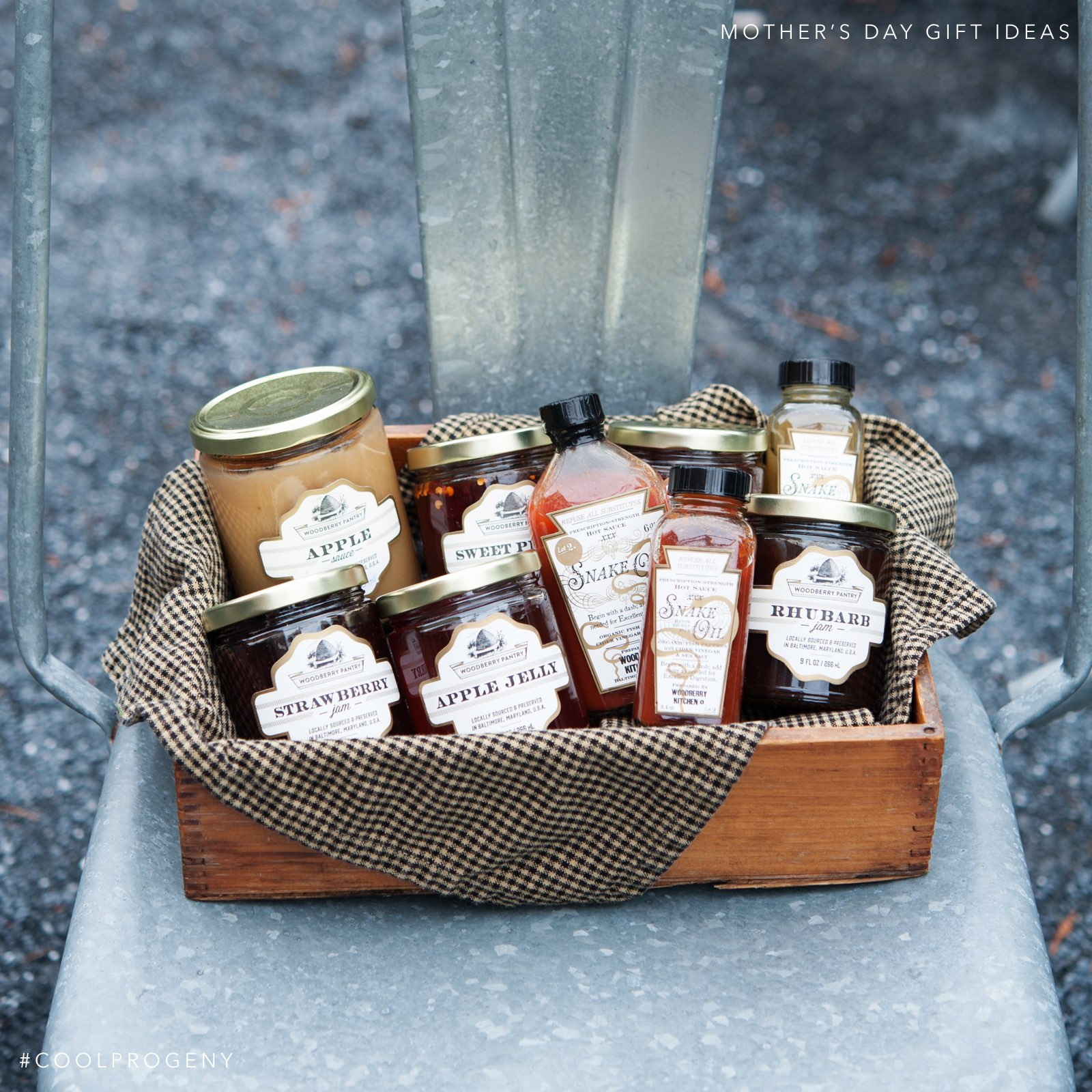 Mother's Day Gift Idea - (cool) progeny - Woodberry Kitchen Jams + Jellies, available at MOMS Organic Markets and Parts & Labor