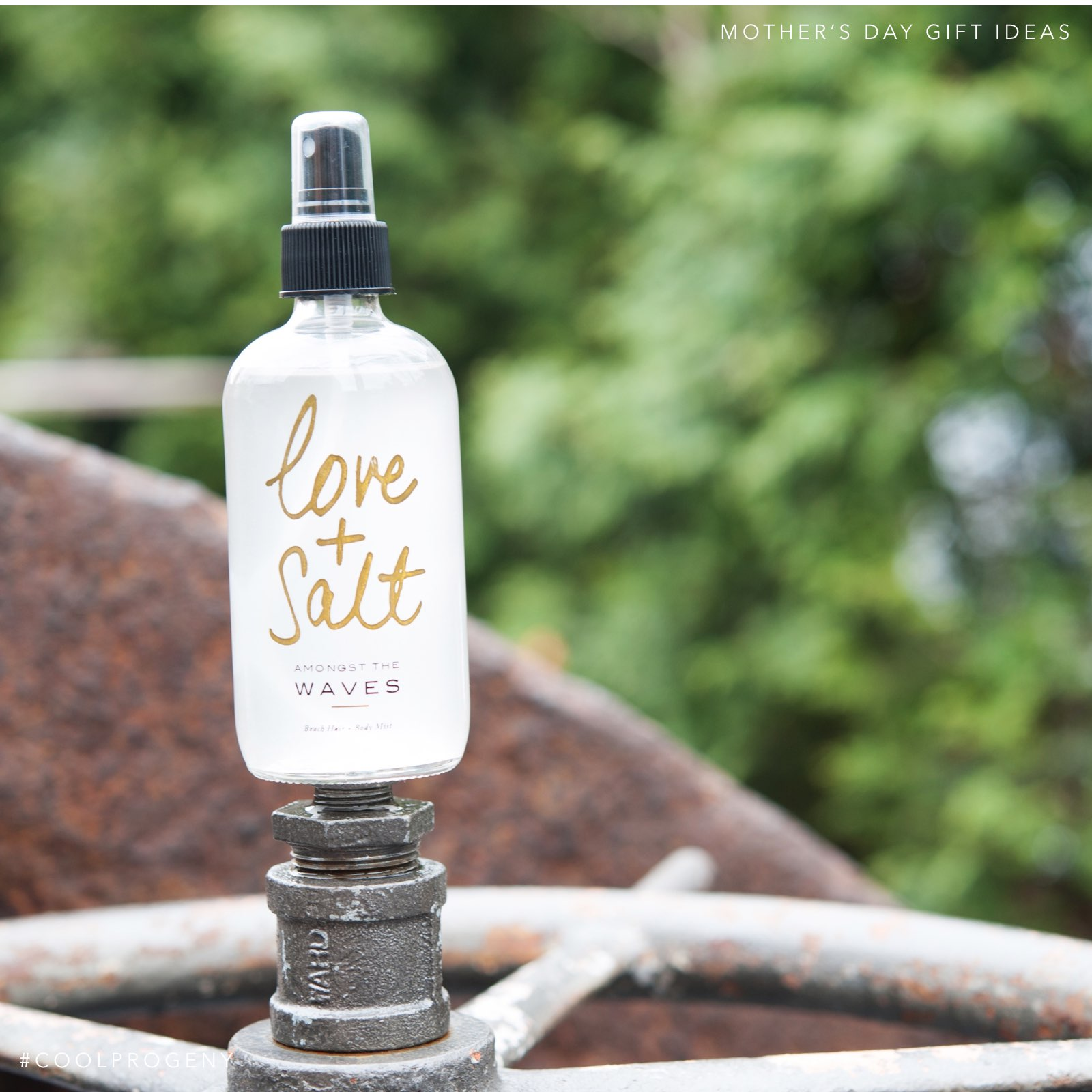 Mother's Day Gift Idea - (cool) progeny - Love & Salt Body Mist, available at Becket Hitch