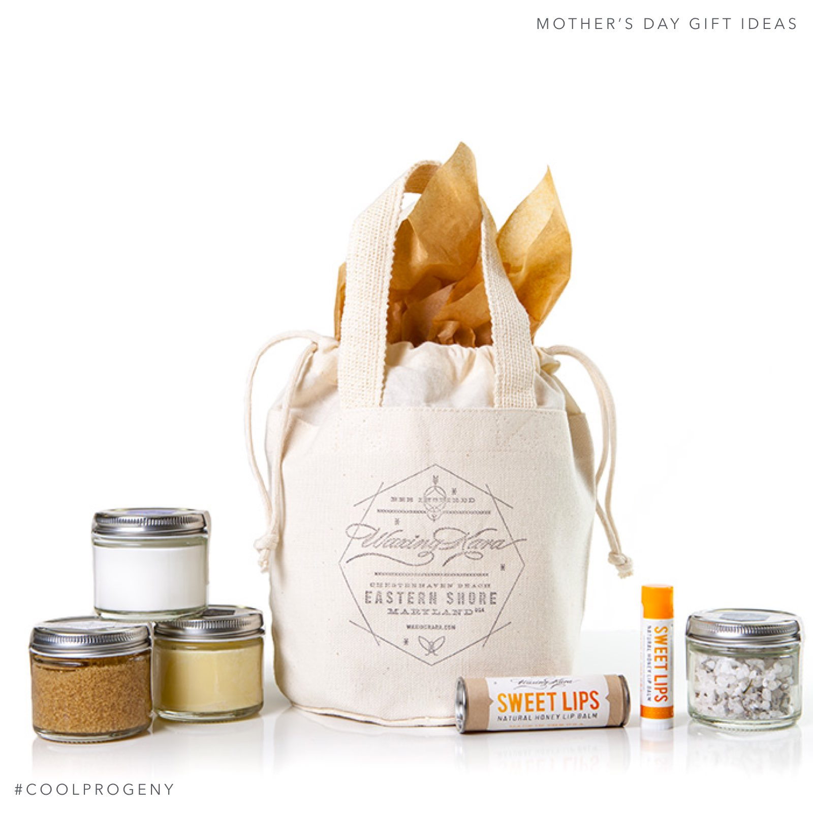Mother's Day Gift Idea - (cool) progeny - Waxing Kara Spa Gift Set