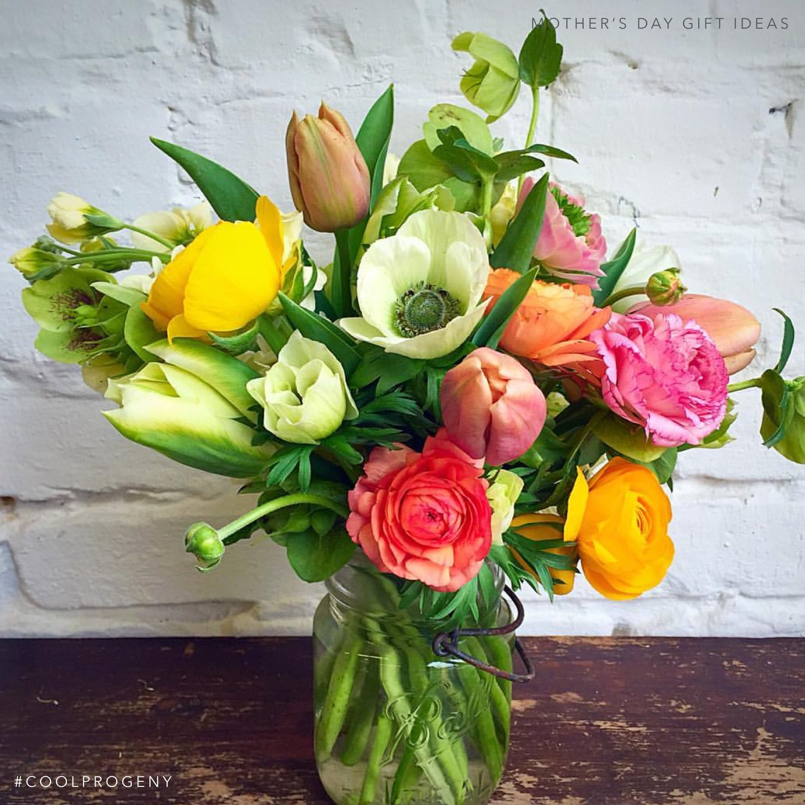 Mother's Day Gift Idea - (cool) progeny - Fresh Flowers from Local Colors Flowers