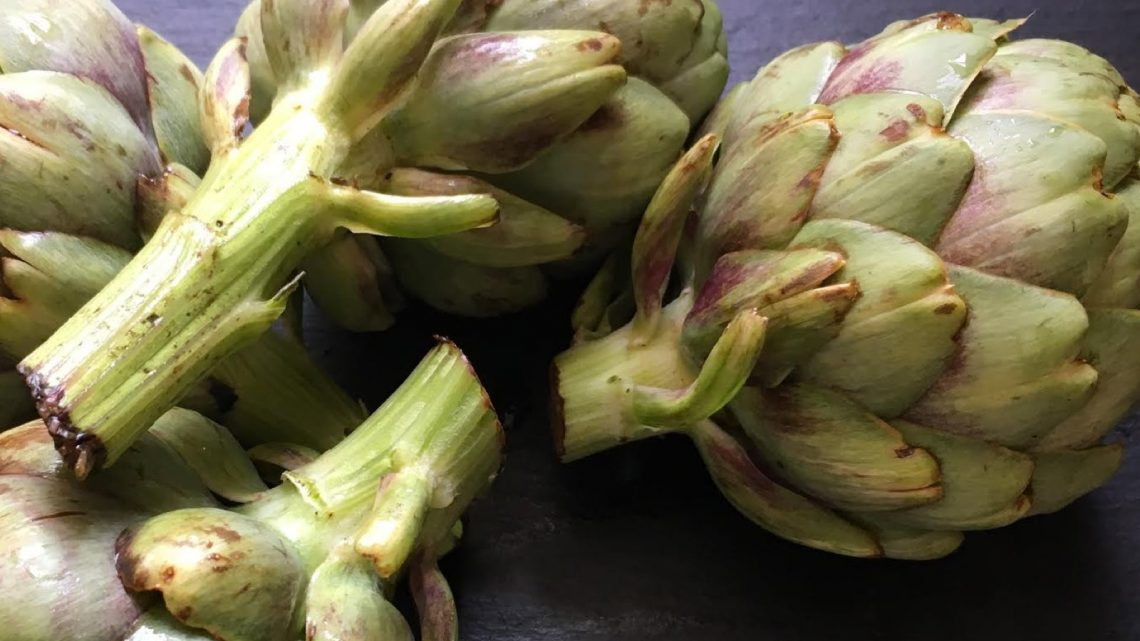 California-Inspired Grilled Steak + Artichokes - (cool) progeny