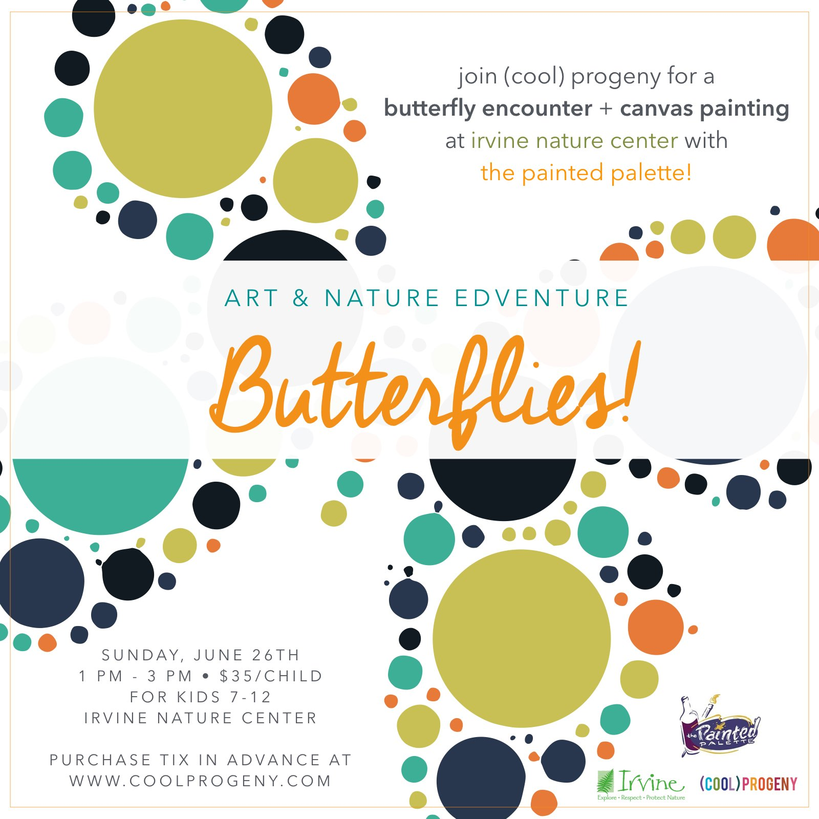Art and Nature Edventure - Butterflies! - (cool) progeny