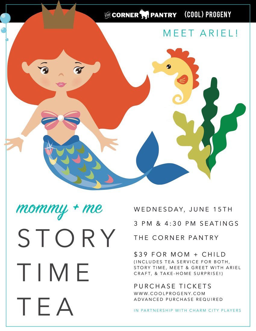 Under the Sea Story Time Tea - (cool) progeny