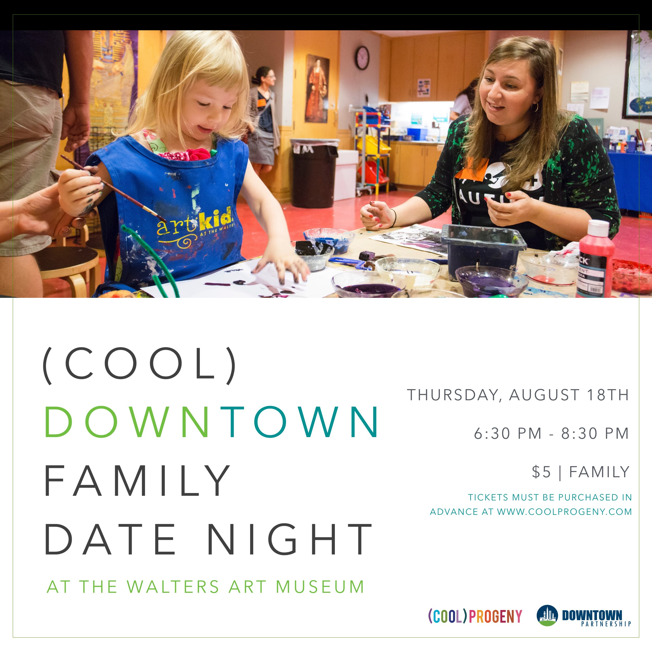 Downtown Family Date Night at The Walters Art Museum - (cool) progeny
