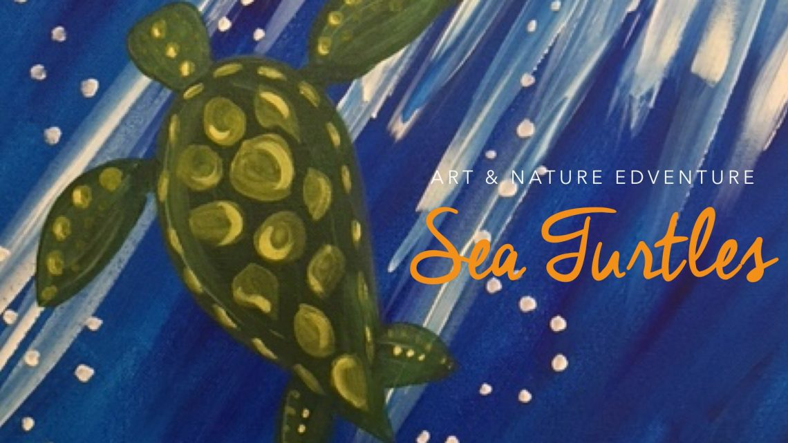 Art + Nature Edventure: Sea Turtles! - (cool) progeny