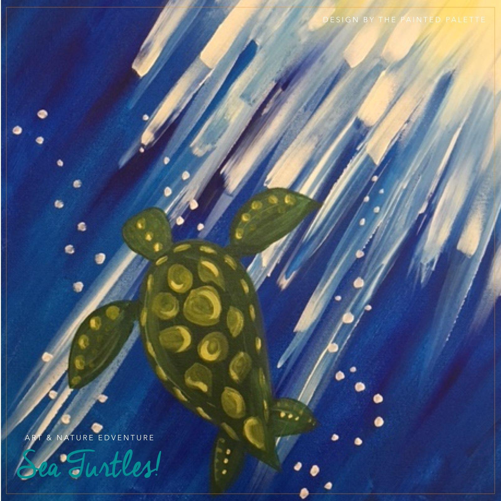 Art + Nature Edventure: Sea Turtles! - (cool) progeny