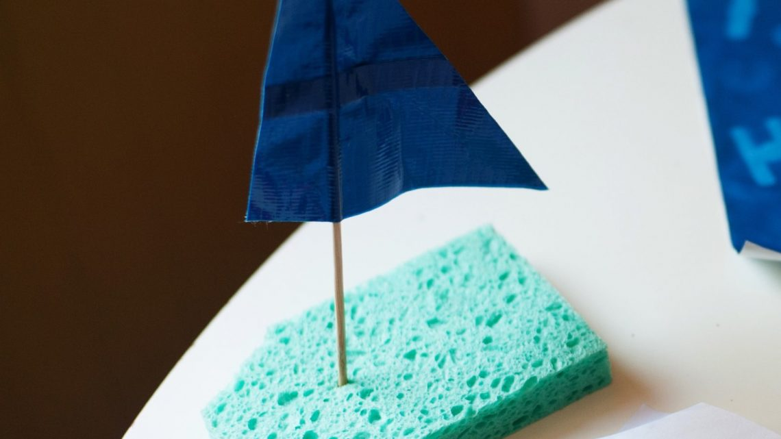 diy sponge boats - (cool) progeny