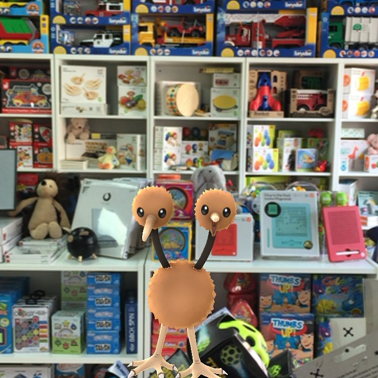Pokemon at aMuse Toys in Fells Point. Photo from aMuse Toys Instagram.