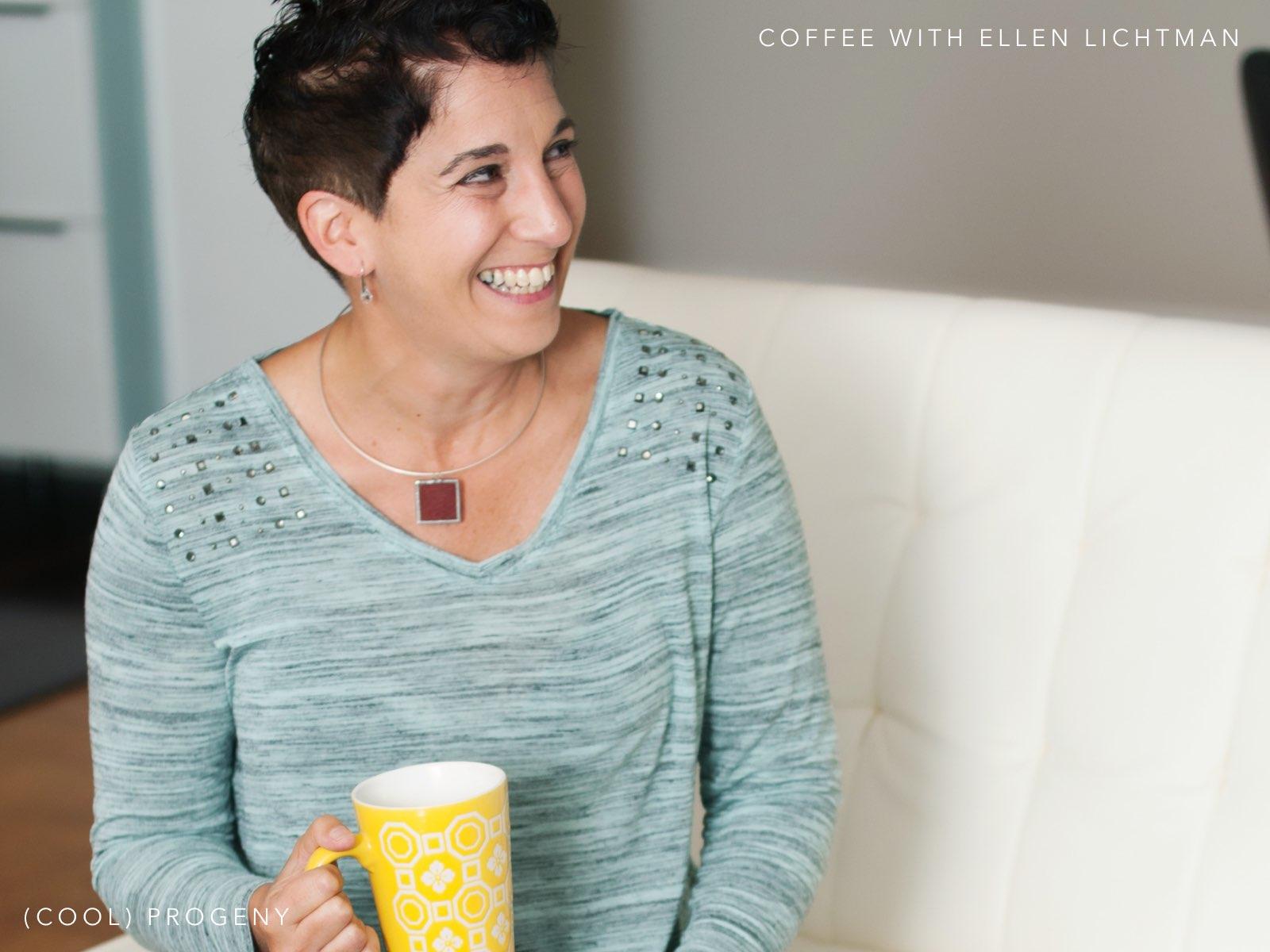 coffee with ellen lichtman, shoezooz - (cool) progeny
