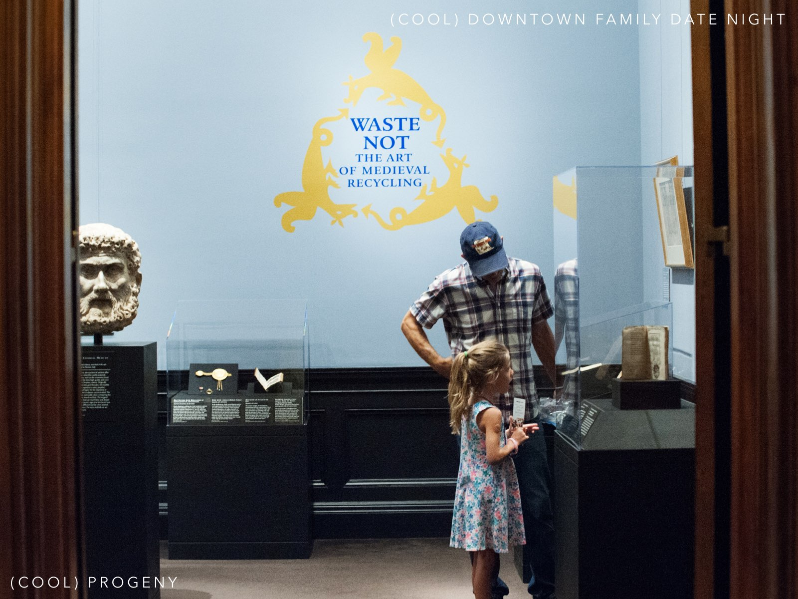 (cool) downtown family date night at the walters art museum - (cool) progeny. photo by laura black. copyright (cool) progeny.