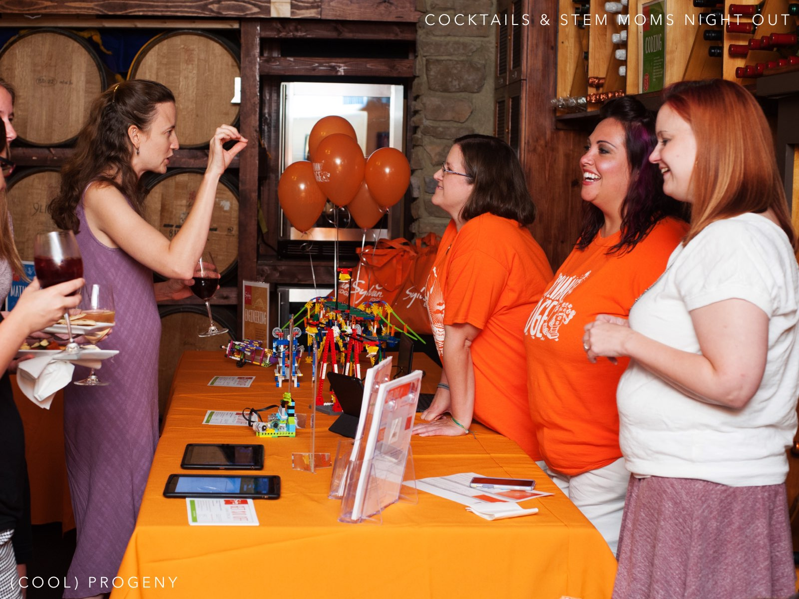 Cocktails and STEM Moms Night Out - (cool) progeny