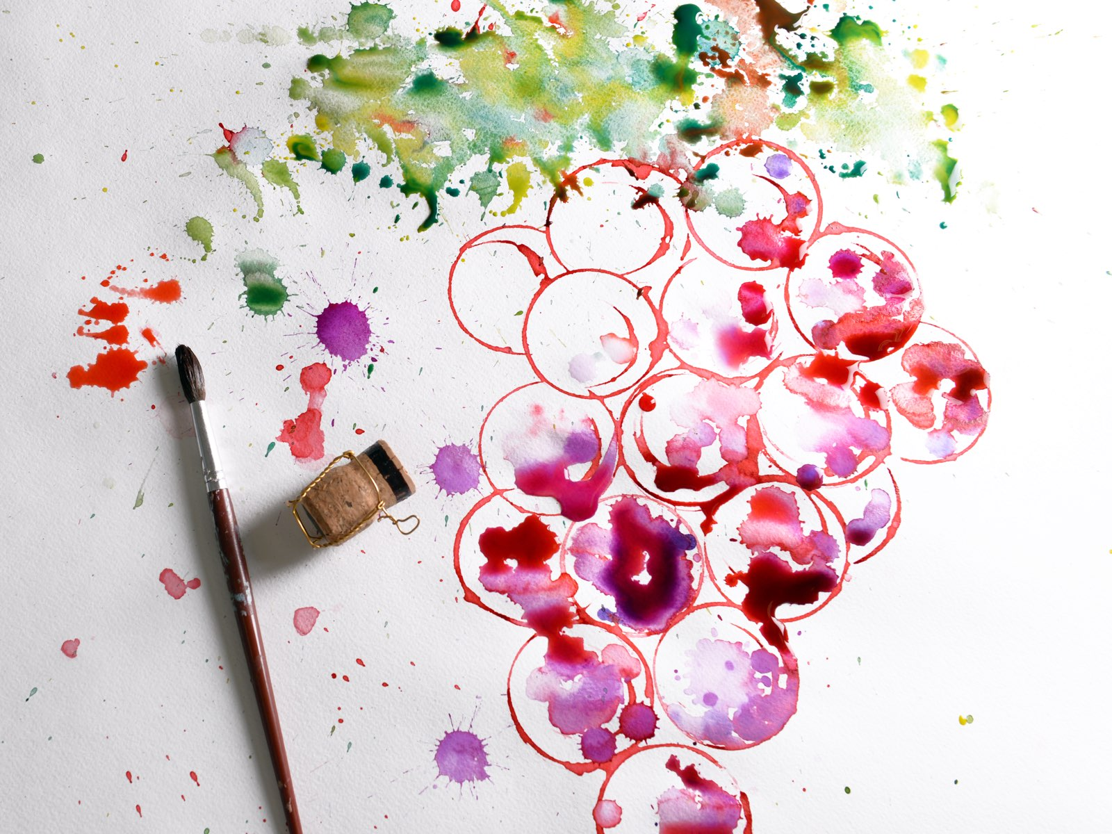(cool) progeny moms night out: art in the vineyard