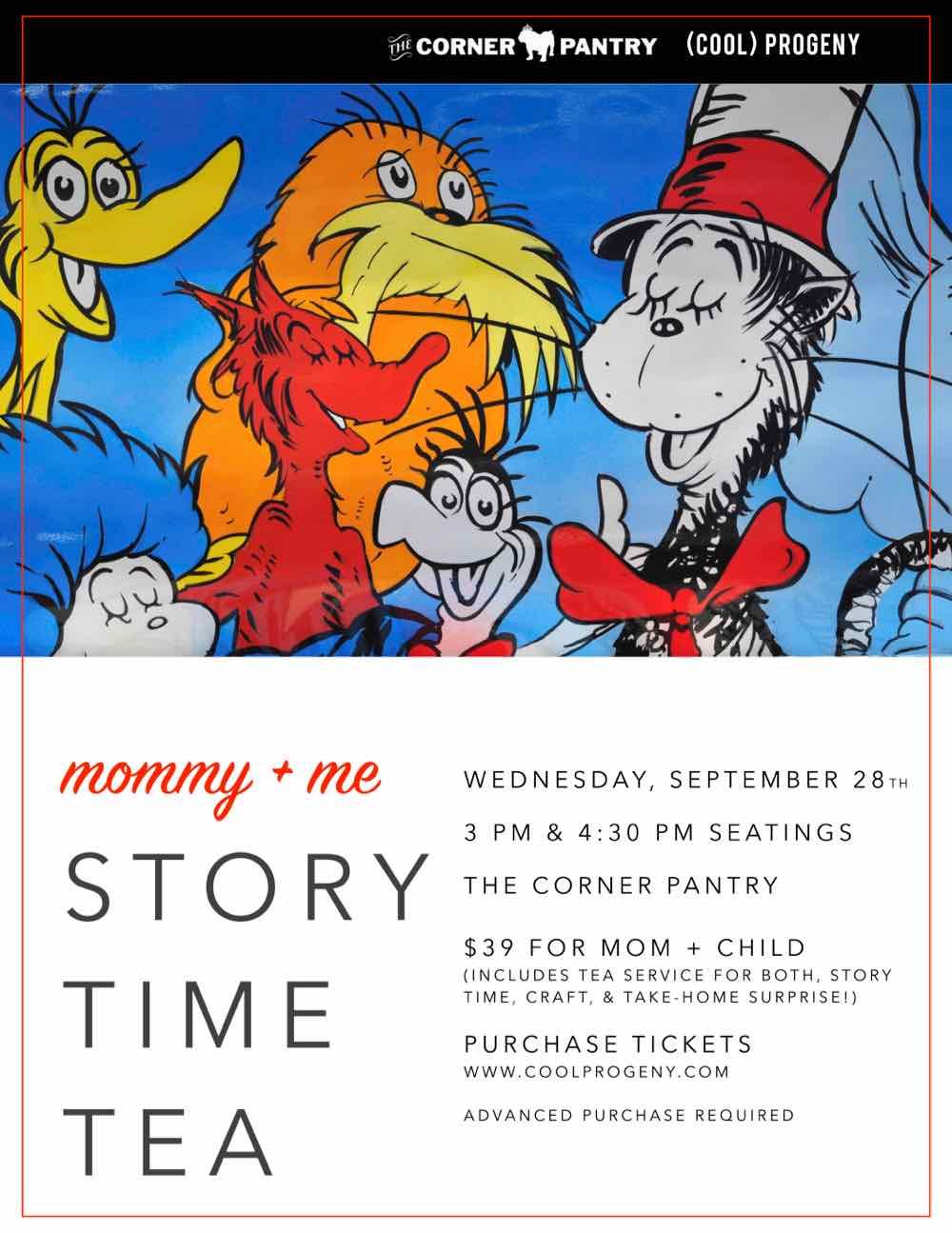 Dr. Seuss Story Time Tea - (cool) progeny