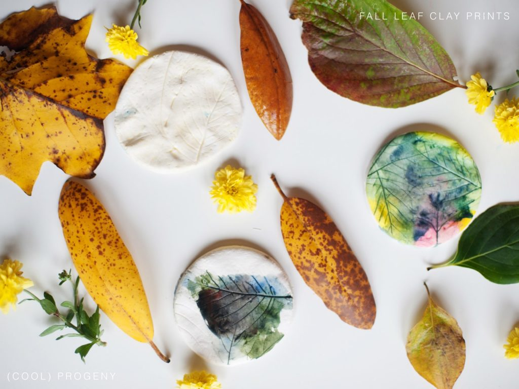 Fall Clay Leaf Prints - (cool) progeny