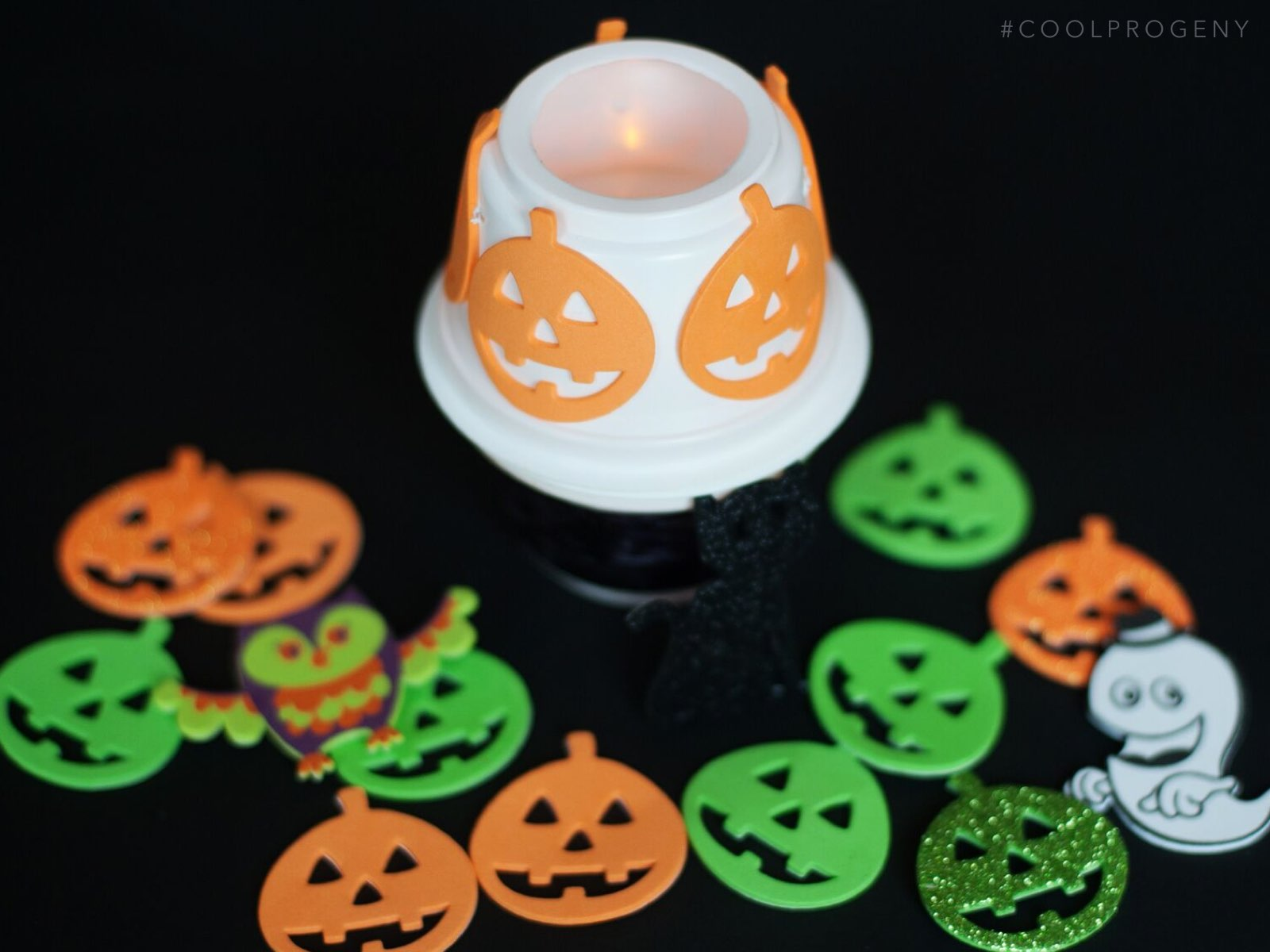 not-so-spooky halloween lantern craft for preschoolers
