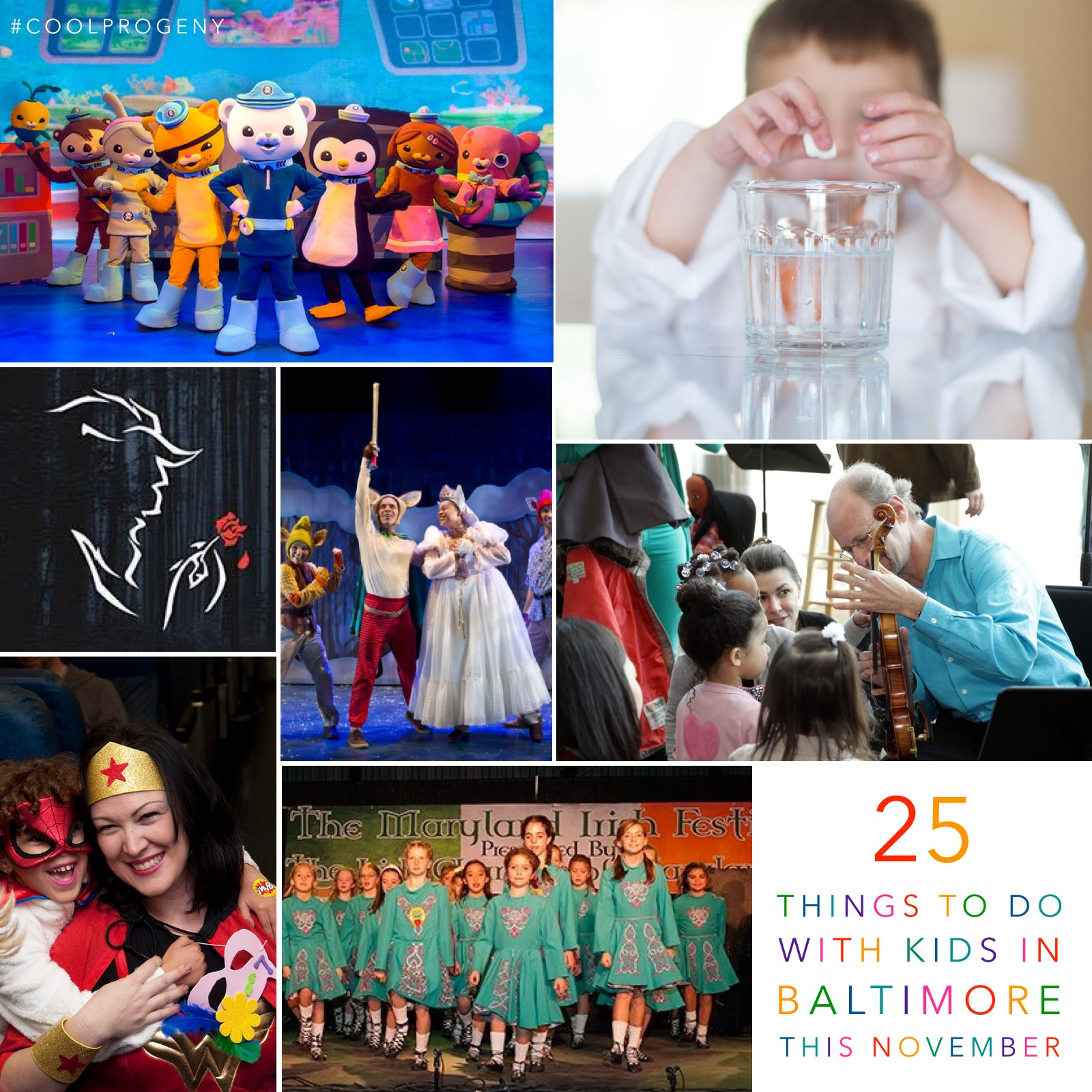 25 Things To Do with Kids in Baltimore this November = (cool) progeny