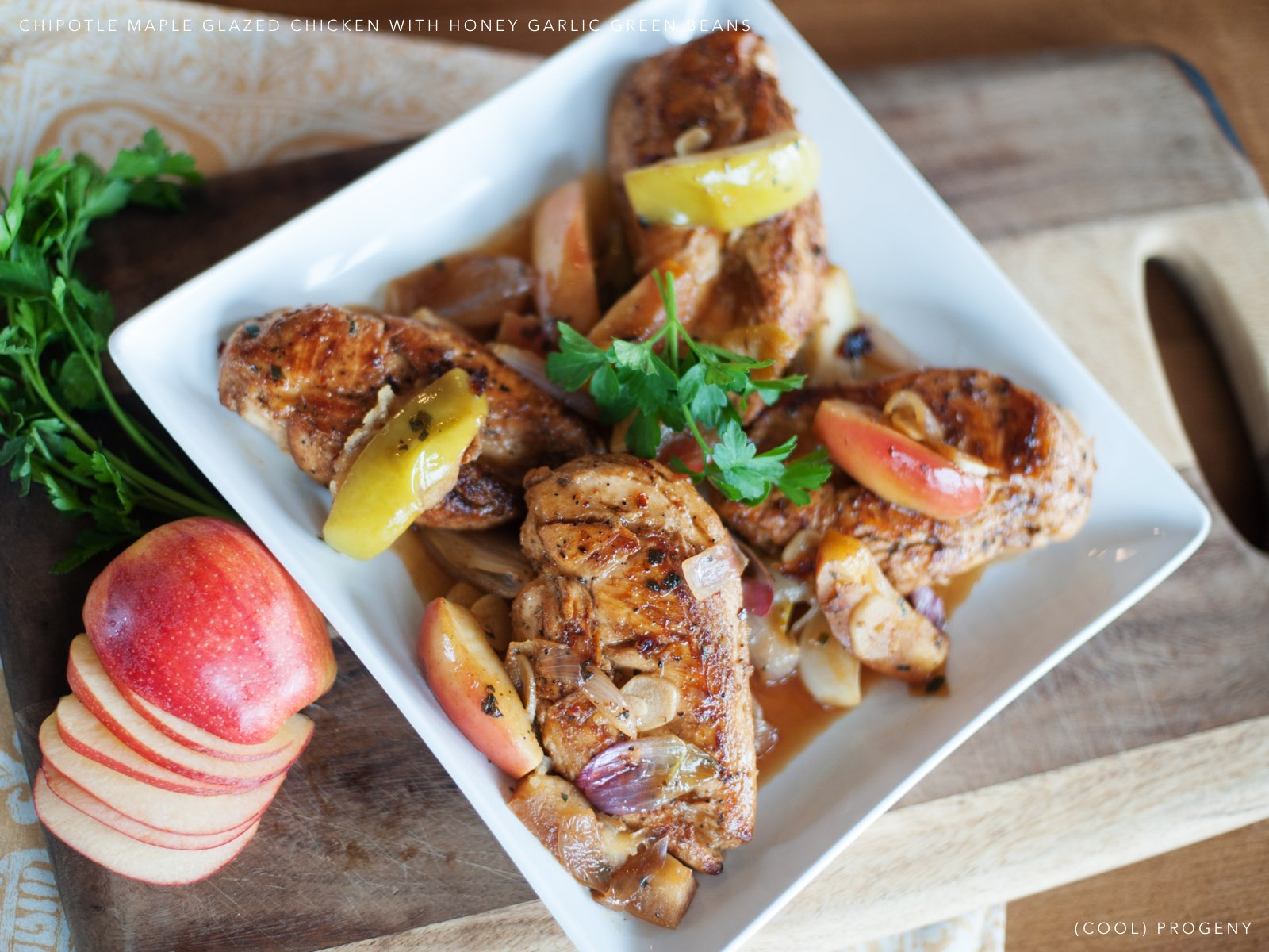Chipotle Maple Glazed Chicken - (cool) progeny