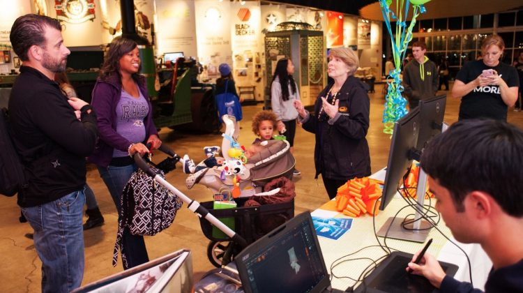 Family Video Game Night at the Baltimore Museum of Industry with Downtown Partnership of Baltimore - (cool) progeny