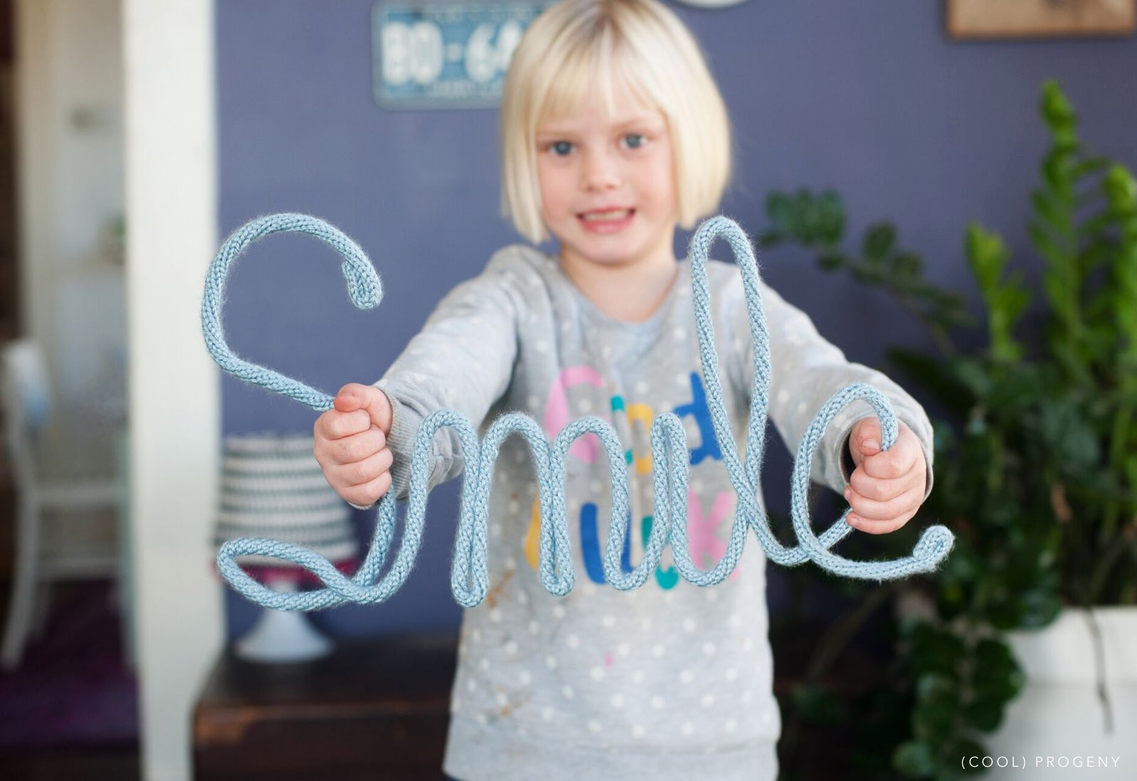make it: yarn butterfly craft - (cool) progeny