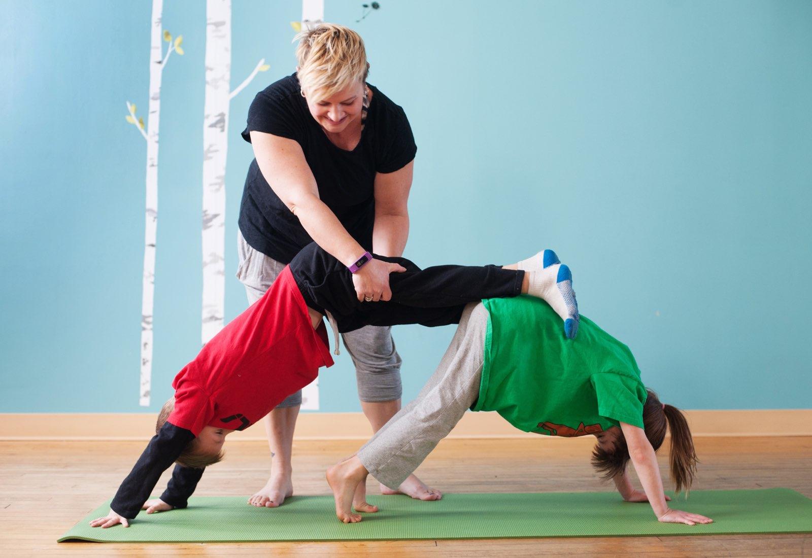 Pajama Yoga - (cool) progeny
