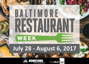 Baltimore Restaurant Week Logo